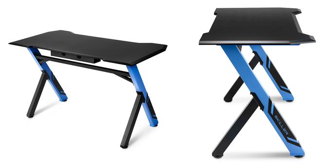 Sharkoon Skiller SGD1 - klasyczne, gamingowe biurko bez LEDów [2]