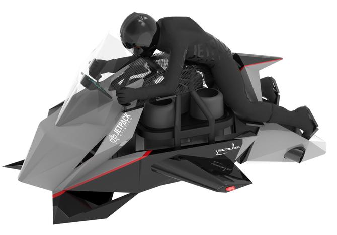 Odrzutowy motocykl może być twój za jedyne 380 000 dolarów  [1]