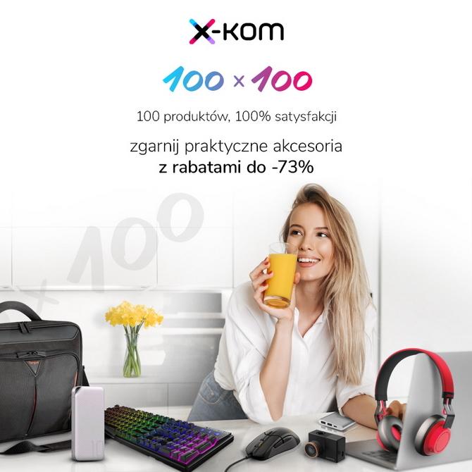 Promocje w sklepach x-kom. Taniej sprzęt gamingowy i sportowy [1]
