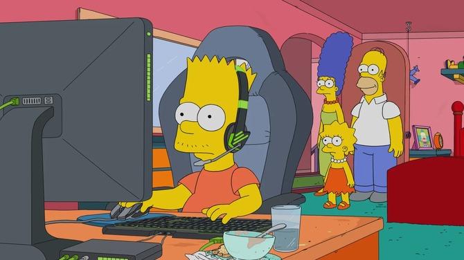 Simpsonowie - nowy odcinek serialu traktuje o esporcie [1]