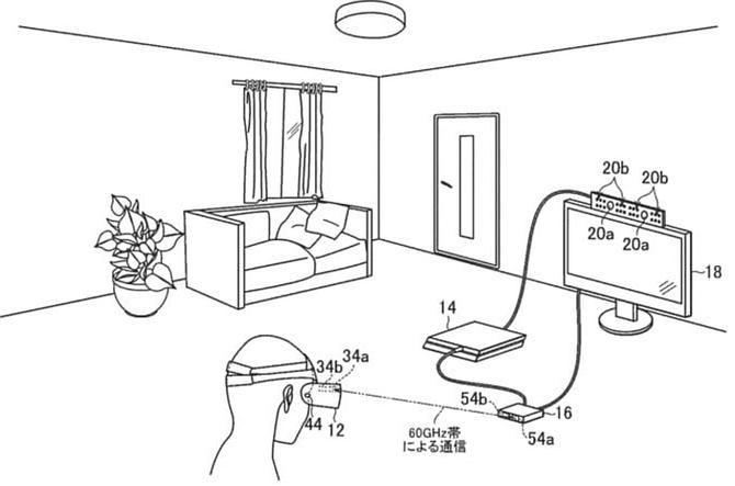 Bezprzewodowe gogle PlayStation VR 2 - Patent zdradza plany Sony [2]