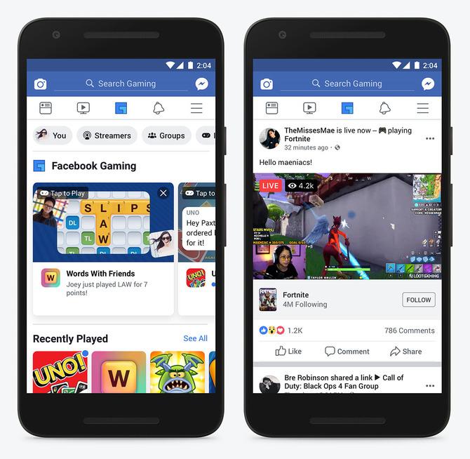 Facebook Gaming - portal będzie udawał serwis gamingowy [1]