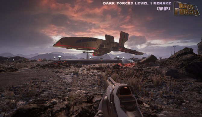 Star Wars: Dark Forces przerobiona na silniku Unreal Engine 4 [1]