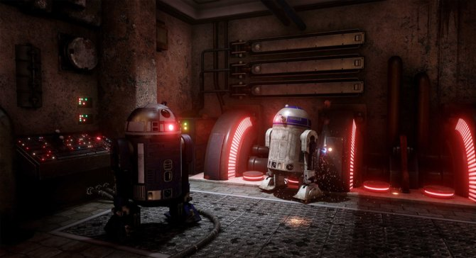 Star Wars: Dark Forces przerobiona na silniku Unreal Engine 4 [2]