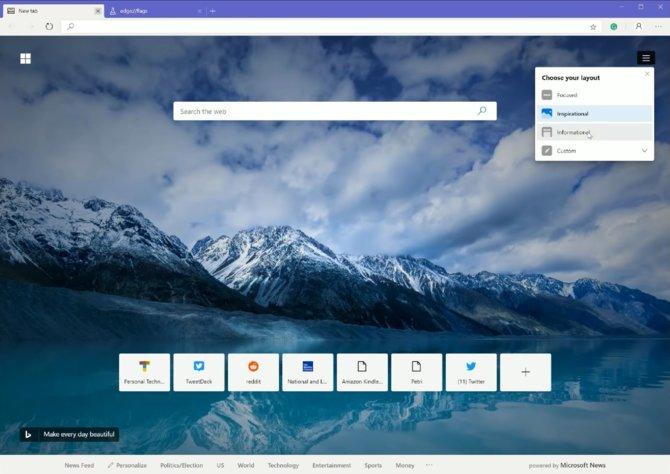 Wyciekła nowa wersja Microsoft Edge na silniku Google Chrome [1]