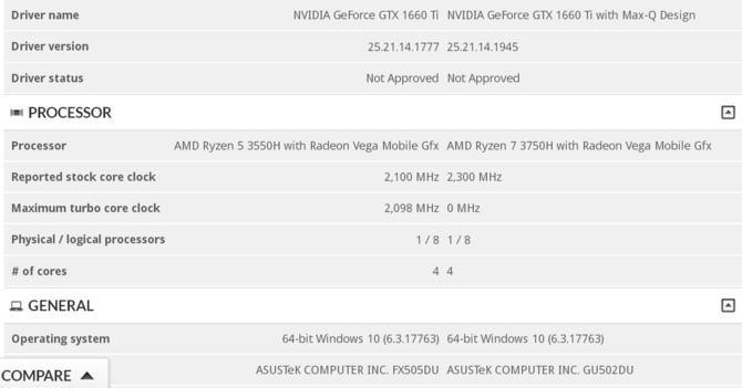 Laptopy ASUS z AMD Ryzen oraz kartami GTX 1660 Ti i RTX 2060 [2]