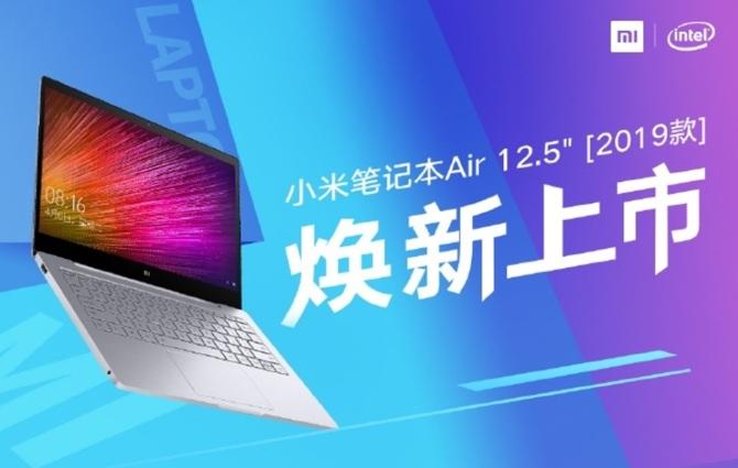 Xiaomi Mi Notebook Air 2019 zapowiedziany przez producenta [1]