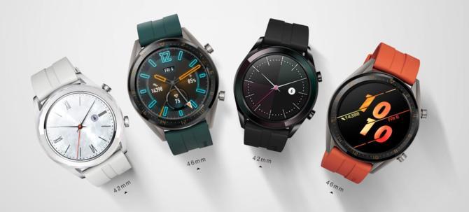 Huawei Watch GT Active i Elegant - Nowe wersje smartwatcha [1]