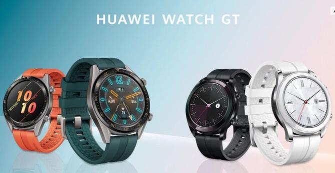 Huawei Watch GT Active i Elegant - Nowe wersje smartwatcha [3]
