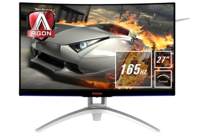 AOC AG272FCX6 - specyfikacja zakrzywionego monitora FreeSync [1]