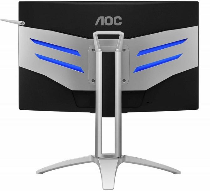 AOC AG272FCX6 - specyfikacja zakrzywionego monitora FreeSync [3]