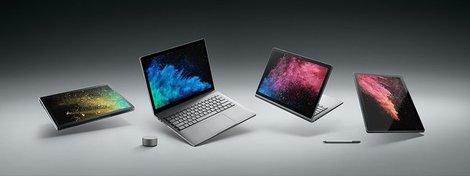 Microsoft Surface Book 2 doczekał się odświeżonej specyfikacji [1]