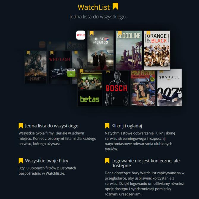 W Polsce ruszył JustWatch - portal agregujący filmy z platform VOD [2]