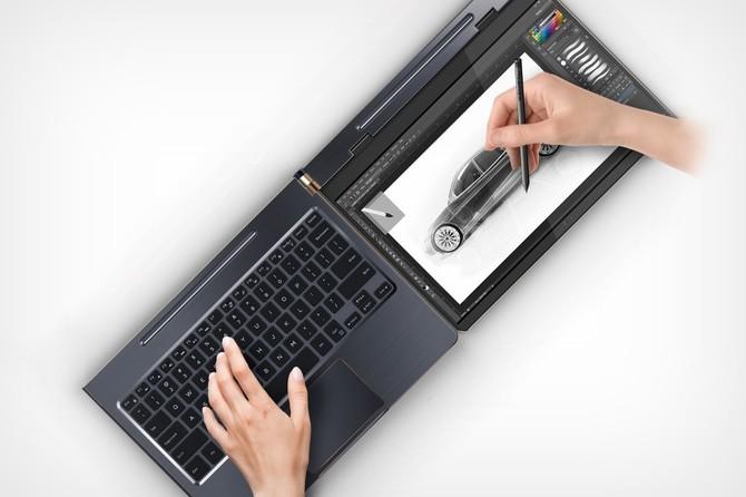 Compal DuoFlip - interesujący pomysł na laptop hybrydowy [2]