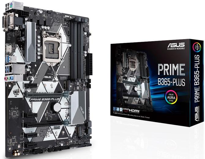 ASUS Prime B365 Plus - Czarno-biała płyta w formacie ATX [1]
