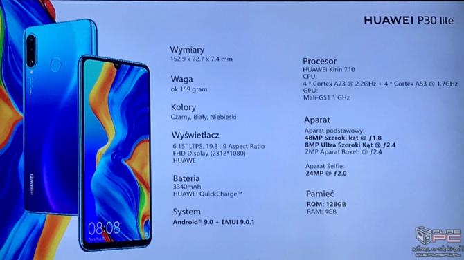 Huawei P30 Lite - polska premiera, ceny i rozwiązanie z flagowców [6]