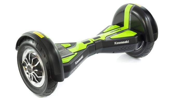 Kawasaki prezentuje hoverboardy o średnicy kół 6,5 oraz 10 cali [3]