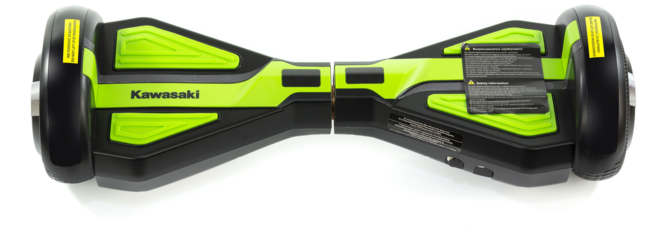 Kawasaki prezentuje hoverboardy o średnicy kół 6,5 oraz 10 cali [4]