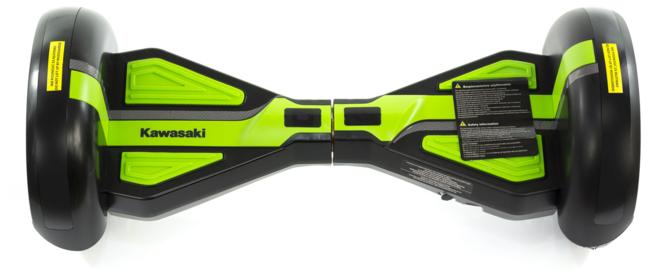 Kawasaki prezentuje hoverboardy o średnicy kół 6,5 oraz 10 cali [5]