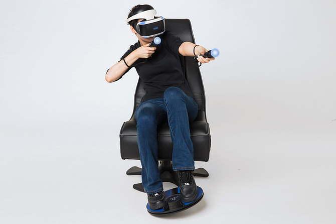 3dRudder - nowy kontroler ruchowy na nogi dla PlayStation VR [1]