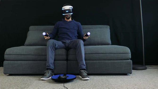 3dRudder - nowy kontroler ruchowy na nogi dla PlayStation VR [2]