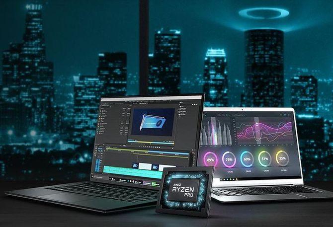 AMD: Mobilne procesory drugiej generacji Ryzen Pro i Athlon Pro [2]
