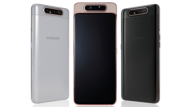 Premiera Samsung Galaxy A80: Smartfon celujący w transmisje live [4]