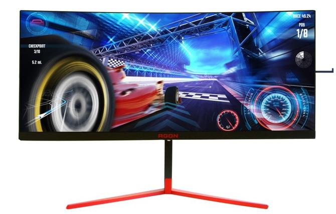 Zakrzywiony monitor AOC Agon AG353UCG 3440×1440, HDR, 200 Hz [2]
