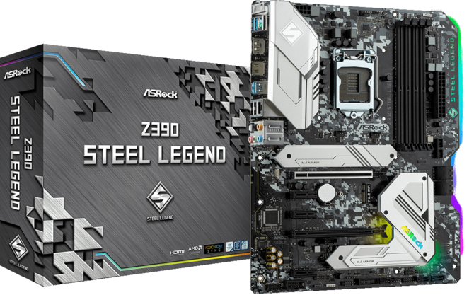 ASRock Z390 Steel Legend - Kolorowa stal dla Intel Coffee Lake [1]