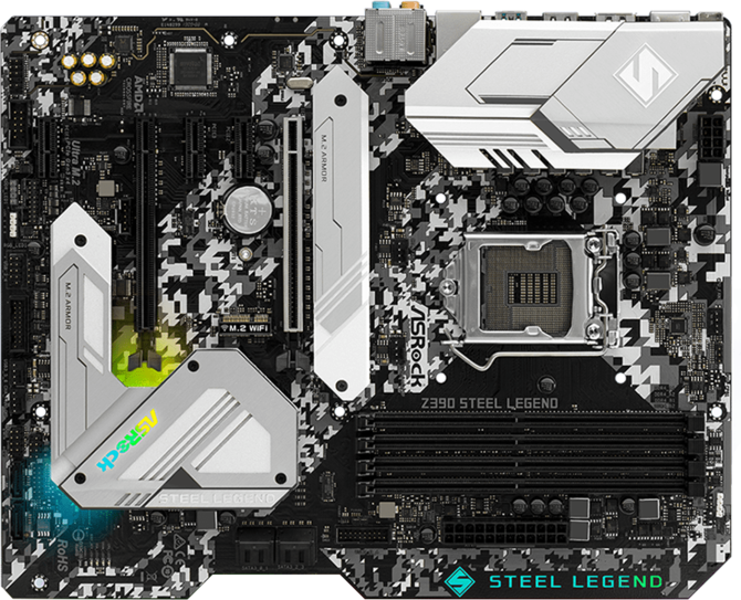 ASRock Z390 Steel Legend - Kolorowa stal dla Intel Coffee Lake [2]