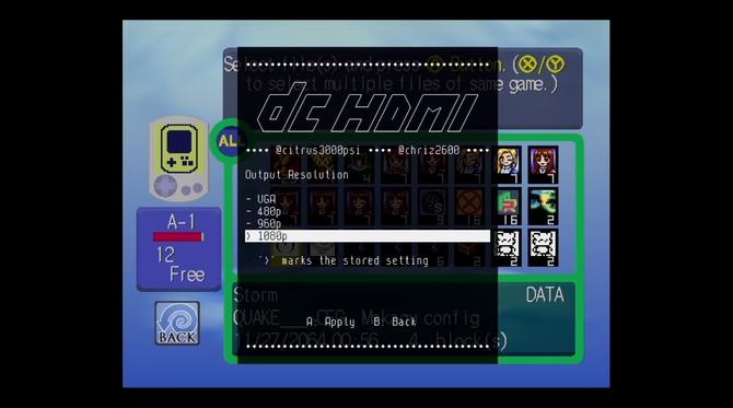 DCHDMI - modyfikacja do Sega Dreamcast z obsługą HDMI [2]