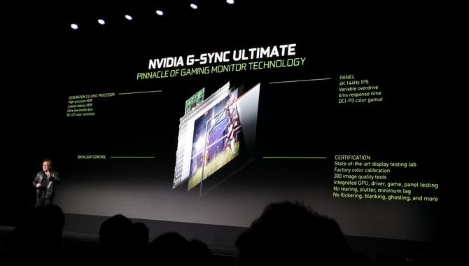 Nowe modele monitorów z obsługą technologii NVIDIA G-Sync [1]