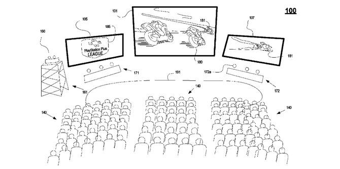Sony patentuje technologię transmisji zawodów esportowych w VR [1]