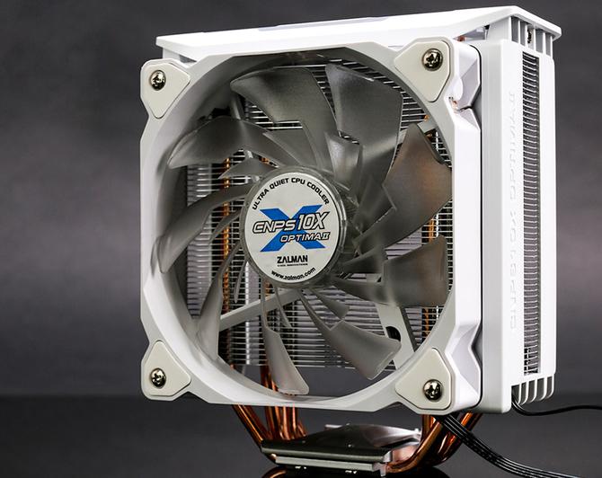 Zalman CNPS10X Optima II - Chłodzenie procesora dla fanów bieli [1]