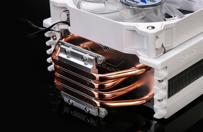 Zalman CNPS10X Optima II - Chłodzenie procesora dla fanów bieli [2]