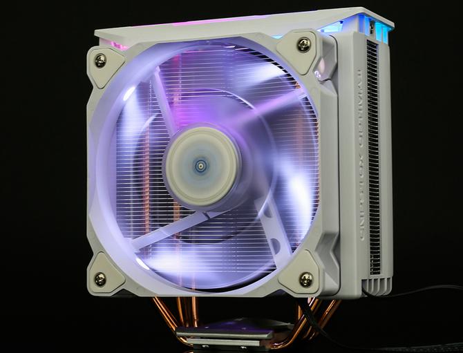 Zalman CNPS10X Optima II - Chłodzenie procesora dla fanów bieli [3]