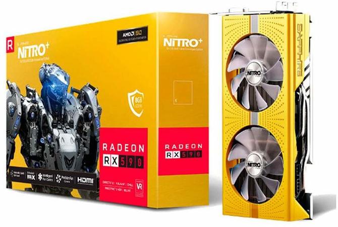Sapphire RX 590 NITRO+ - Limitowana wersja na 50. urodziny AMD  [1]