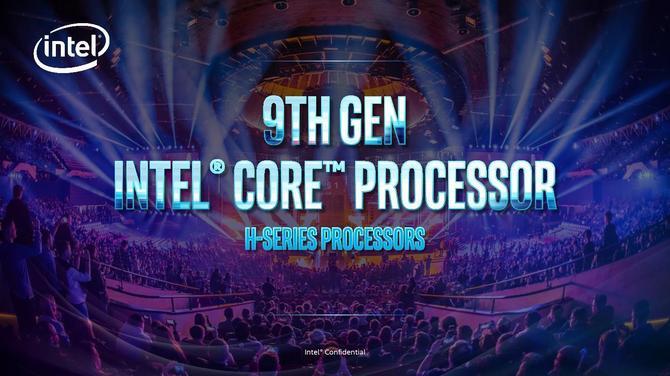 Intel Core 9 gen. dla laptopów - oficjalny debiut nowych układów [1]