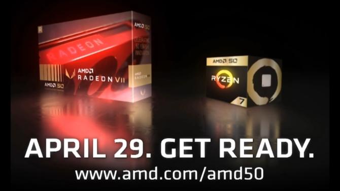Radeon VII także pojawi się w specjalnej wersji na 50-lecie AMD [1]