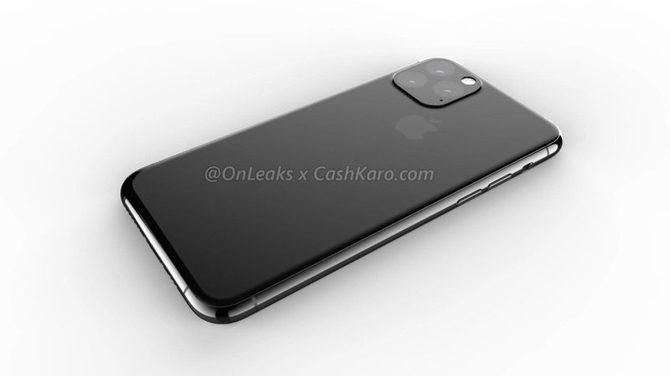 iPhone XI na kolejnych renderach. Najbrzydszy smartfon roku? [3]