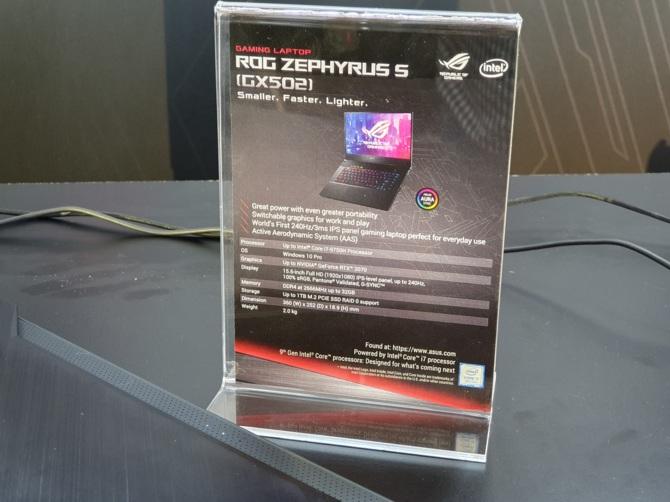 Nowe laptopy ASUS Zephyrus GX502 z NVIDIA GeForce RTX 20x0 [8]