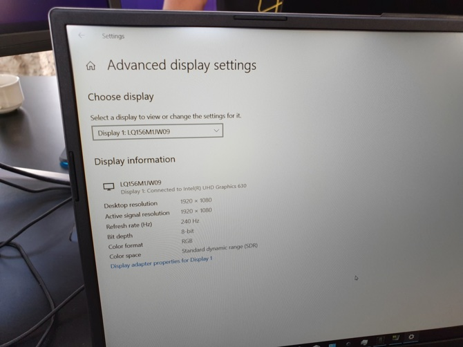 Matryce 17,3-calowe 240 Hz pojawią się w laptopach w 2020 roku [2]