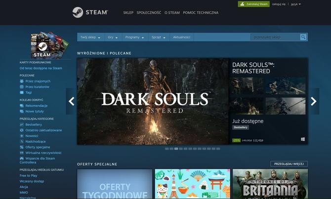 Steam z 1 miliardem kont i 90 mln aktywnych użytkowników [2]