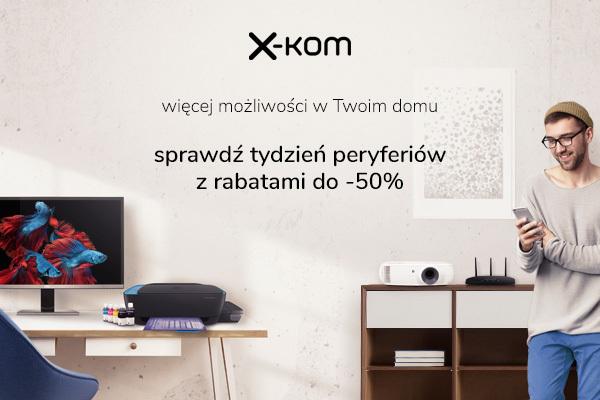 Peryferia taniej do 50% - Tydzień peryferiów w sklepach x-kom [1]