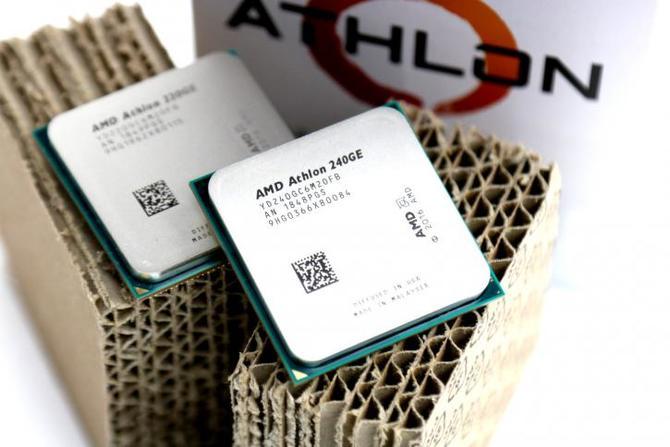 AMD Athlon 300GE i 320GE - pierwsze informacje o nowych APU [1]
