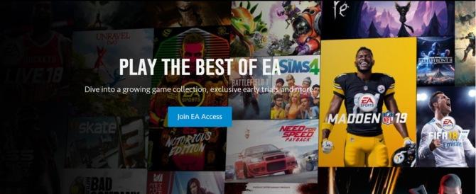 EA Access na Sony PlayStation 4 będzie dostępne od lipca 2019 roku [1]