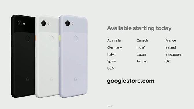 Google Pixel 3a i Google Pixel 3a XL - specyfikacja, ceny, dostępność [2]