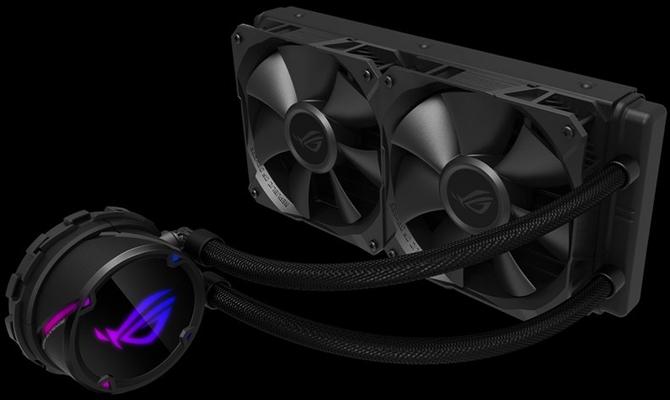 ASUS ROG Strix LC - Proste chłodzenia cieczą z RGB LED  [1]