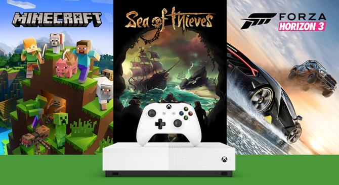 Xbox One S All-Digital Edition - polska cena, preorder i bonusy [1]