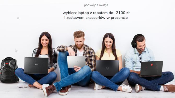 Chcesz kupić laptopa? W x-kom dostaniesz zniżkę i akcesoria gratis [1]
